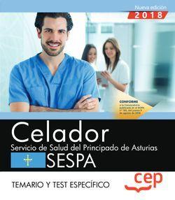 Celador del Servicio de Salud del Principado de Asturias. SESPA. Temario y test específico