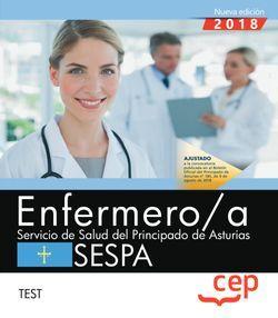 Enfermero/a del Servicio de Salud del Principado de Asturias. SESPA. Test