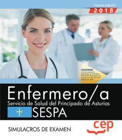 Enfermero/a del Servicio de Salud del Principado de Asturias. SESPA. Simulacros de examen