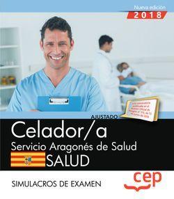 Celador/a del Servicio Aragonés de Salud. SALUD. Simulacros de examen