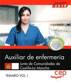 Auxiliar de Enfermería. Junta de Comunidades de Castilla-La Mancha. Temario