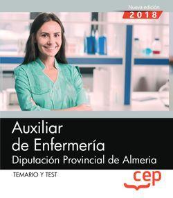Auxiliar de Enfermería. Diputación Provincial de Almería. Temario y Test