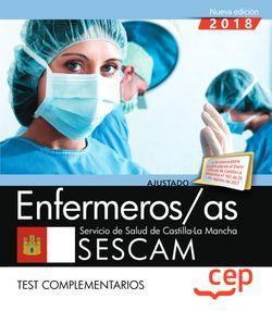 Enfermeros/as. Servicio de Salud de Castilla-La Mancha (SESCAM). Test complementarios