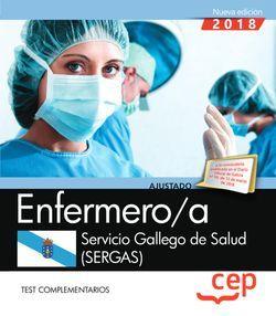 Enfermero/a del Servicio Gallego de Salud (SERGAS). Test complementarios