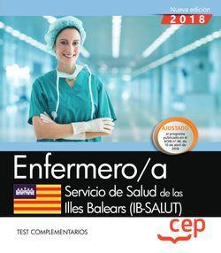 Enfermero/a. Servicio de Salud de las Illes Balears (IB-SALUT). Test complementarios