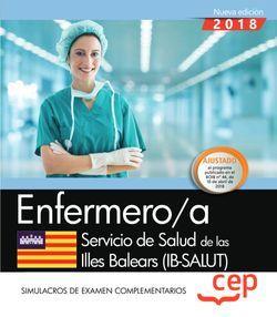 Enfermero/a. Servicio de Salud de las Illes Balears (IB-SALUT). Simulacros de examen complementarios