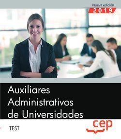 Auxiliares Administrativos de Universidades. Test.