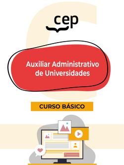 CURSO BASICO. Auxiliares Administrativos de Universidades