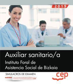Auxiliar sanitario/a. Instituto Foral de Asistencia Social de Bizkaia. Simulacros de examen