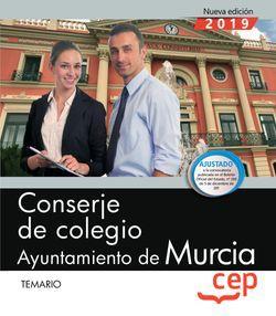 Conserje de colegio. Ayuntamiento de Murcia. Temario