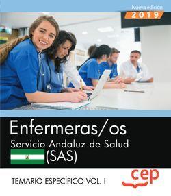 Enfermeras/os. Servicio Andaluz de Salud. SAS. Temario específico Vol.I