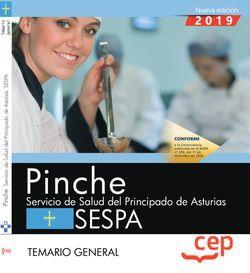 Pinche. Servicio de Salud del Principado de Asturias. SESPA. Temario general