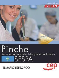 Pinche. Servicio de Salud del Principado de Asturias. SESPA. Temario específico