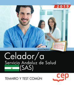 Celador. Servicio Andaluz de Salud (SAS). Temario y test común