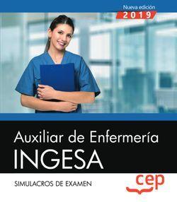 Auxiliar de Enfermería. INGESA. Simulacros de examen