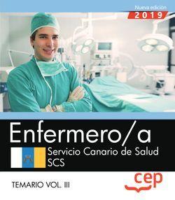 Enfermero/a. Servicio Canario de Salud. SCS. Temario Vol. III