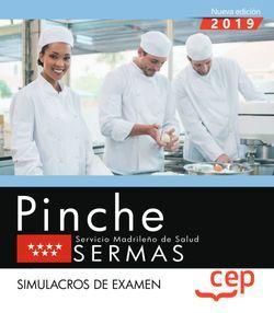 Pinche. Servicio Madrileño de Salud. SERMAS. Simulacros de examen