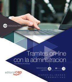 Tramites on-line con la administracion (ADGD267PO). Especialidades formativas