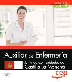 Auxiliar de Enfermería. Junta de Comunidades de Castilla-La Mancha. Test