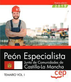 Peón Especialista. Junta de Comunidades de Castilla La Mancha. Temario Vol.I