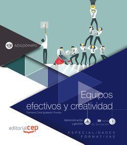 Equipos efectivos y creatividad (ADGD094PO). Especialidades formativas
