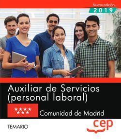 Auxiliar de Servicios (personal laboral). Comunidad de Madrid. Temario