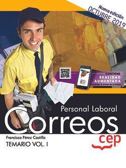 Personal Laboral. Correos. Temario Vol.I