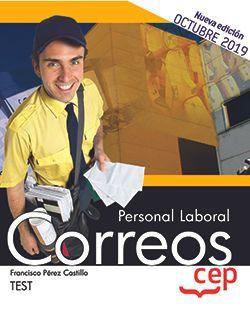 Personal Laboral. Correos. Test