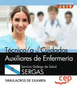 Técnico/a en Cuidados Auxiliares de Enfermería. Servicio Gallego de Salud. SERGAS. Simulacros de examen
