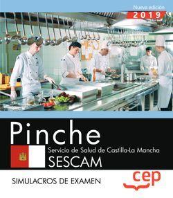 Pinche. Servicio de Salud de Castilla-La Mancha. SESCAM. Simulacros de examen