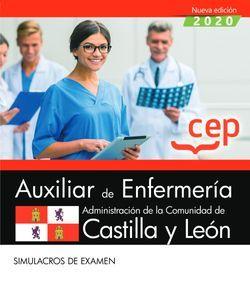 Auxiliar de Enfermería de la Administración de la Comunidad de Castilla y León. Simulacros de examen