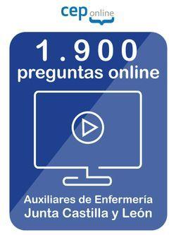 1.900 preguntas online de Oposiciones de Auxiliar de Enfermería en Castilla y León