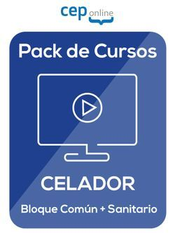 Pack de Cursos acreditados online de Celador