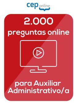 Curso Online 2000 preguntas para Auxiliares Administrativos