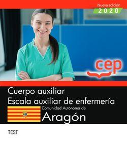 Cuerpo auxiliar. Escala auxiliar de enfermería. Comunidad Autónoma de Aragón. Test