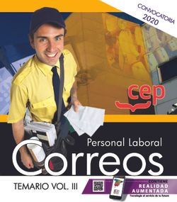 Personal Laboral. Correos. Temario Vol.III