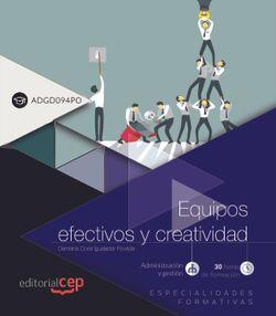 Scorm. Equipos efectivos y creatividad (ADGD094PO). Especialidades Formativas