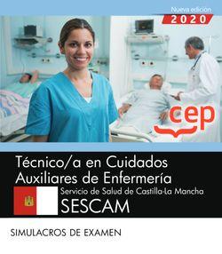 Técnico/a en Cuidados Auxiliares de Enfermería. Servicio de Salud de Castilla-La Mancha. SESCAM. Simulacros de examen