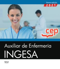 Auxiliar de Enfermería. INGESA. Test