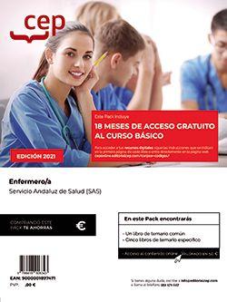 Pack teórico + Curso Básico. Enfermero/a. Servicio Andaluz de Salud (SAS)